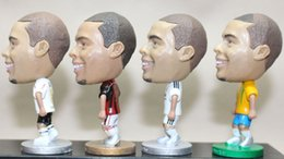 Wholesale Sports Wholesale For Souvenir - Wholesale-Hot! Fashion Football Star Dolls Club Real Madrid #9 Ronaldo Doll Classic Sport Toy Doll Doccer Fans Souvenir For Gift