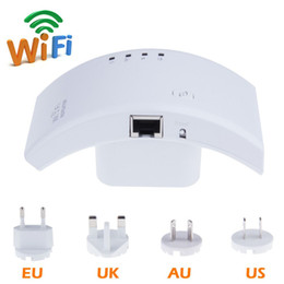 Wholesale High Range Router - High Quality 300M 802.11N Network CF-WR500N Wireless Wi Fi WLAN Repeater Wifi Router Range Extender with US EU AU Plug