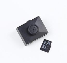 Wholesale Mini Camera Video Voice Recorder - Button camera mini spy DVR camera Audio Video PC DVR Voice Recorder DVR Cam 1080p Black New mini Camcorders