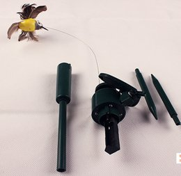 Wholesale Solar Hummingbirds - Wholesale- New Solar hummingbirds butterflies garden toys students enlightenment educational toys, solar and battery combo.GIFT