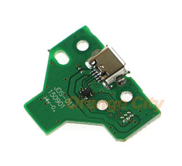 Wholesale quality socket - High Quality 12PIN 12 pin USB Charging charge charger power Port Socket For PS4 playstations 4 controller with board jds-011 jds-001