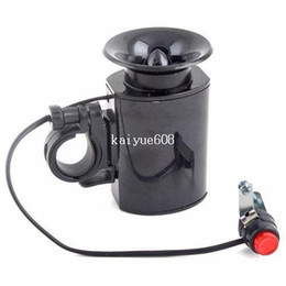 Wholesale Loud Sound - 6 Sounds Ultra-loud Bicycle Bike Electronic Bell Horn#4900