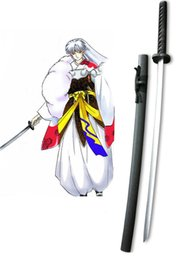 Wholesale Weapon Accessories - Wholesale-Sexy Halloween Christmas InuYasha Sesshomaru Tenseiga Cosplay Wooden Weapons