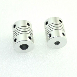 Wholesale Flexible Shaft Couplings - 5pcs lot 3D printer Stepper Motor Flexible Coupling Coupler  Shaft Couplings 5 mm*8mm**25 mm