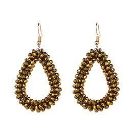 Wholesale cheap gold jewelry china - Fashionable Heart Style Earring Manufacturer High Quality Cheap Earring for Women Acrylic Jewelry Wholesale China