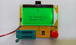 Wholesale Digital Meter Capacitance - Wholesale-2015 New Arrival 12846 LCD M328 Digital Transistor Tester Meter Backlight Diode Triode Capacitance ESR Meter MOS PNP NPN L C R