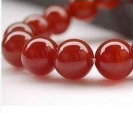 """Wholesale Loose Jade Gems - Wholesale cheap 6mm 8mm Perfect Red GEM Ruby Round Loose Beads Gemstone 15"""""""