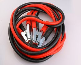 Wholesale Play Rides - 5PCS Car Supplies 1000A Car Ride FireWire Copper Whole 4 M Clip Playing FireWire Emergency Start Battery Cable