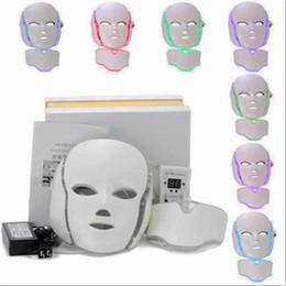 Canada 7 Couleurs PDT LED Luminothérapie Masque Visage Masque Anti-Âge Dispositif Rejuvenation Thérapie Rides Traitement Masseur Détente supplier aging treatment Offre