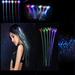 Wholesale Toys Sold Christmas - Hot Sell Luminous Pigtail Dancing Party Supplies Children's Luminous Toy LED Headwear Christmas Decorations CCA7952 200pcs