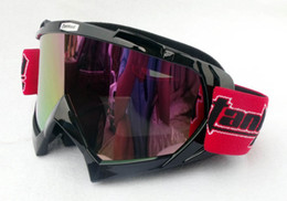 Wholesale Ski Helmet Glasses - Wholesale-TANKED Racing Motorcycle Goggles Riding Glasses Motocross Goggles Cycling Helmet Mask Myopia Glasses Slot TANKED Ski Goggle