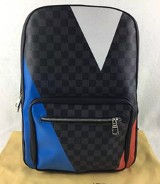 Wholesale Mens Backpack Casual - Free Shipping! Luxury Brand Backpack Mens Women Backpacks High Quality Men Backpack