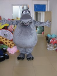Wholesale Character Mascot Costumes For Sale - 2016 hot sale new Christmas grey hippo Mascot Costume for Halloween christmas Party Costume Character Outfit Fancy dress