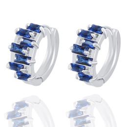 Wholesale Diamond Stud Drop - Earrings Hoop for Women Fashion Jewelry Cubic Zirconia Studs Earrings Diamond Round Drop Earrings Hanging 925 Sterling Silver Hoop Earrings