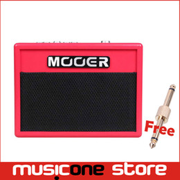 Wholesale Drum Rhythms - Mooer Super Tiny Twin Muliti-Effects Guitar Amplifier Very small and exquisite 4 Drive Sound 3 DSP Effects 80 Drum Rhythms MU0528