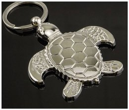 Wholesale Lovely Keychains - Free Shipping!Best Selling Advertisement Gift Lovely Sea Turtle Keychains Key Chain Keyring