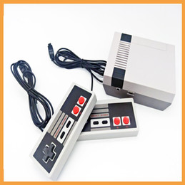 Wholesale Free Games Ships - New Arrival Mini TV Game Console Video Handheld for NES games consoles with retail boxs free shipping