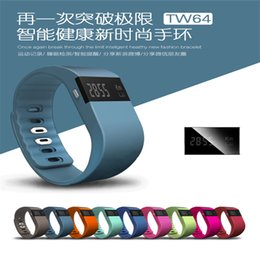 Wholesale fit watches - Waterproof IP67 Smart Wristbands TW64 bluetooth fitness activity tracker smartband wristband pulsera wristband watch not fitbit flex fit bit