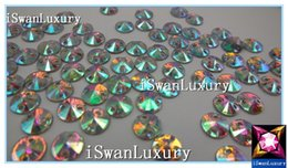 Wholesale Diamante Accessories - Wholesale-Resin China A+++ Shiny Round 8mm Crystals 800pcs Diamante Loose Beads Accessories Strass Stones Sew-on Rhinestones Beads Strass