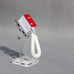 cartão de plástico para placa de plástico Desconto Suporte de exposição de segurança para celular telefone inteligente, material acrílico, varejo Anti-roubo display stands sem alarme atacado frete grátis