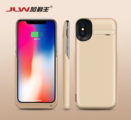 Wholesale Battery Pack Case For Iphone - 5000mAh Power Charger Case for iPhone X Half-pack Back Clip External Battery Power Bank for iPhone X