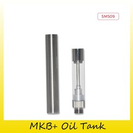 Wholesale Metal Cotton - Authentic Smiss MKB+ Oil Tank 0.5ML Capacity Replaceable Borosilicate Glass Atomizers For Original Cotton Coil 100% Genuine 2280001