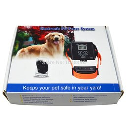 Wholesale Smart Dog Ground - Pet Electronic Smart Dog In-ground Pet Fencing System fence- Receiver can be charged X800