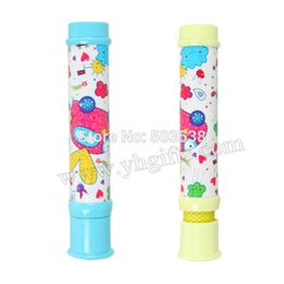 Wholesale Telescope Cartoon - 1PCLOT,Plastic cartoon Monocular and telescope microscope 2 in 1,Optical Instruments,Natural Science Educational,Kids toys.