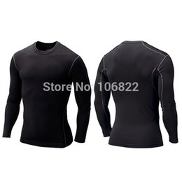 Wholesale Tights Collection - Wholesale-Free&DropShippingNew Men Compression Base Layer Tight Shirt Long Sleeve Sport Gear Collection