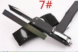 Wholesale Folding Benches - Hot mi troodon A07 7 models Hunting Folding Pocket Knife Survival Knife bench Xmas gift for men copies 1pcs freeshipping