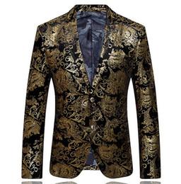 Wholesale Poplin Blazer - Hot sale 2015 autumn and winter high-quality brands men's velor Married Suits & Blazers plus blazer slim man