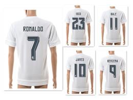 Wholesale Men S Athletic - Wholesale 15-16 Season 7# RONALDO Athletic Soccer Jerseys Shirts,Training Soccer Jerseys,Customized Thai Quality Soccer Top Football Tops