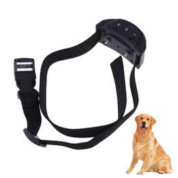 Wholesale Dog Training Dhl - Free DHL 2015 New PET853 Anti-Bark No Barking Tone Shock Training Collar For Small Medium Dog
