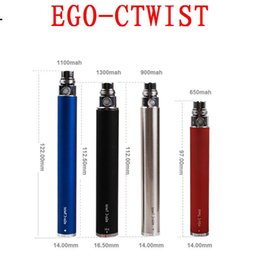 Wholesale Ego Ctwist Cigarette - Ego-ctwist electronic cigarette battery mods herb istick smoke aspire vaporizer aspire triton vape atomizers ecig box mods 2016 ecigarette