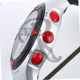 Wholesale Heart Rate Pulse Calorie Watch - 1pcs Outdoor Cycling Monitor Wrist Watch Calorie Waterproof Pulse Heart Rate Counter Sport Exercise