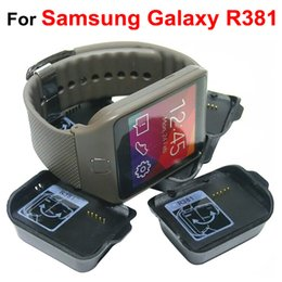 Wholesale Neo Charger - Charger Cradle Charging Dock For Samsung Galaxy Smart Watch Gear 2 Neo R381 Gear 2 R380 Gear Fit R350 Gear V700 New Arrival
