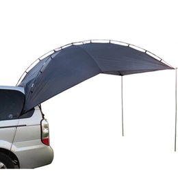 Wholesale Car Tent Canopy - Wholesale- TY Outdoor Waterproof Protable Canopy Camping Tent Sun shelter Car Awning Tent