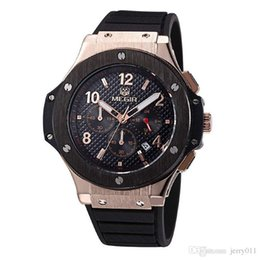 Wholesale Hour Hand Men - MEGIR Chronograph 6 Hands 24 Hours Function Men Sport Watch Silicone Luxury Watch Men Top Brand Military Watch Relogio Masculino