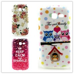 Wholesale Trends For Phone Cases - Wholesale 2pcs Cartoon Style Soft TPU Gel Case For Samsung Galaxy Trend Lite S7390 Back Skin Phone Bag Case Free shipping