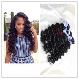 Wholesale Brazilian Deep Wave Hair 5a - Popular Deep Wave Malaysian Hair Products 3 Bundles 5A Malaysian Virgin Hair Deep Wave Unprocessed Virgin Malaysian hair Human Hair Weaves