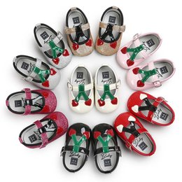 Wholesale Buckle Loop Wholesale - 2017 new Baby First Walkers princess shoeses baby shoes chestnut baby shoes soft soled shoes