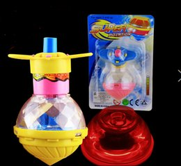 Wholesale Cheap Led Christmas Lights Wholesale - Cheap toys creative light emitting top speed tlaunch light Beyblade toy LED Beyblade Christmas toys