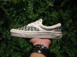 Wholesale Cotton Art Canvas - 2017 Newest Fear Of God x PacSun Era 95 Reissue Canvas Shoes For Men FOG Casual Sneakers Women Black White Skateboard shoes