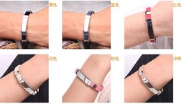 Wholesale Ion Power Silicone Energy Band - Wholesale-DHL 100pcs Free Shipping Christmas Gift Health Titanium power Ion 2000 Magnetic Bracelet silicone wristbands Ionic Energy Bands