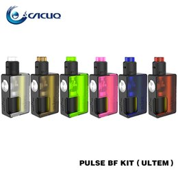 Wholesale Pulse Batteries - 100% Original Vandy Vape Pulse BF Kit Compatible with 18650 and 20700 battery 2ml Atomizer Capacity 8ml Bottle Capacity