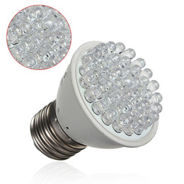 Wholesale Grow Energy - New E27 2W 38 LED Energy Saving Red Blue Hydroponic Plant Grow Light Bulb