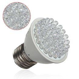 Wholesale Energy Plant - New E27 2W 38 LED Energy Saving Red Blue Hydroponic Plant Grow Light Bulb