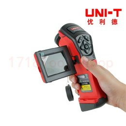 Wholesale Infrared Thermal Imaging Cameras - Wholesale-UNI-T UTi160A Handheld IR Infrared Thermal Imaging Camera 160x120 2.5'' TFT LCD