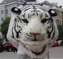 Wholesale Tiger Stripe Bag - New Arrive hot selling personality animal cartoon bags, tiger head unisex stripes Fashion Bags Backpack free shipping
