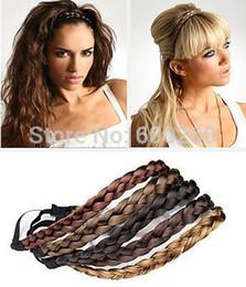 Fashion Women Girl Cheveux synthétiques Bandeau plaqué Bande de cheveux style bohème Hots 2014 Livraison gratuite ? partir de fabricateur